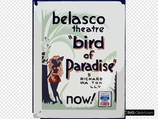 Bird Of Paradise  By Richard Walton Tully