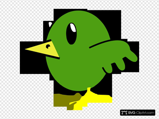 Bird Cartoon Hi