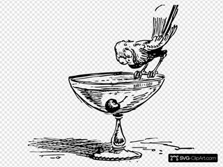 Bird On A Cocktail