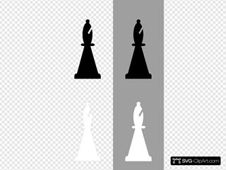 Chess Set Bishop