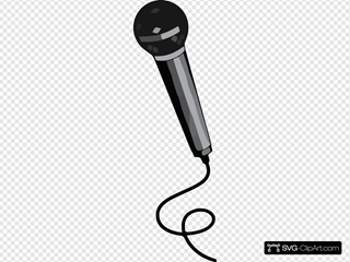 Microphone Clipart Microphone Black
