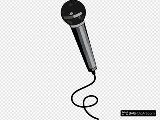 Microphone Clipart Microphone Black