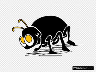 Cartoon Bug Insect