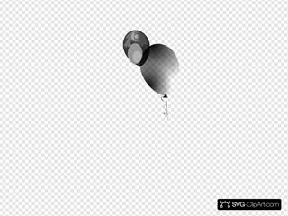 Small Black Balloon