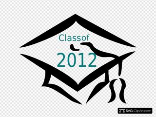 Class Of 2012 Graduation Cap