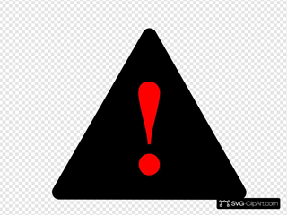 Black Black Red Warning 1
