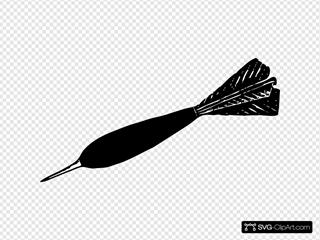 Dart SVG Clipart