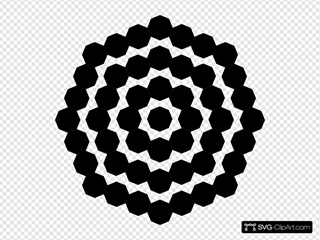 Family Of Black Octagons