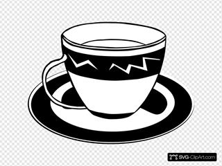 Teacup (b And W)