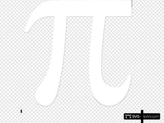 White Pi Black Image