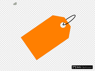 Orange Sale Tag