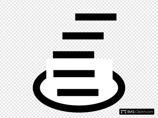 Japanese Map Symbol Crater Or Fumarole SVG Clipart