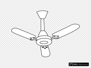 Ceiling Fan Outline