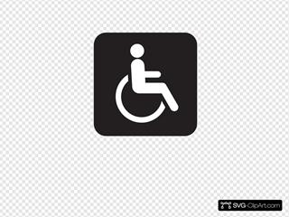 Wheelchair Accessible Black