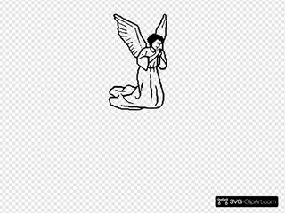 Angel Kneeling