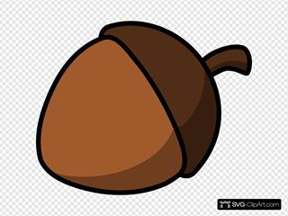 Cartoon Nut