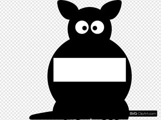 Black Sightword Kangaroo