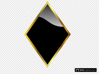 Black Glossy Diamond