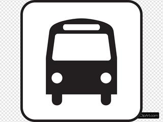 Map Symbols Bus
