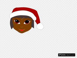 Black Santa Helper