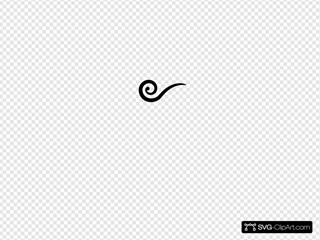 Black Swirl Wind