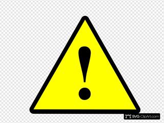 Black Yellow Black Warning 1