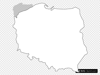 Black Line Master Polish Map