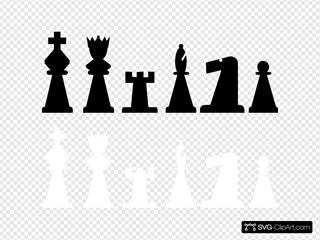 Chess Set Pieces