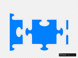 Jigsaw Puzzle Blue