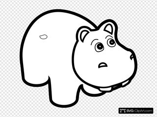 Hippo Outline