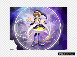 Cardcaptor Sakura Moon Black Costume