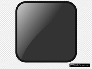 Blank Black Button 2
