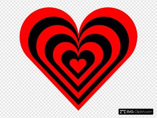 Red.black.heart