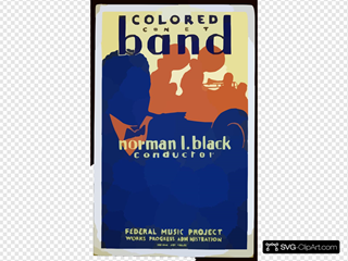 Colored Concert Band, Norman L. Black, Conductor
