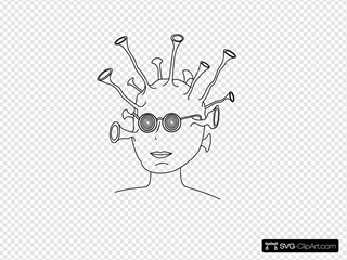 Alien With Glasses