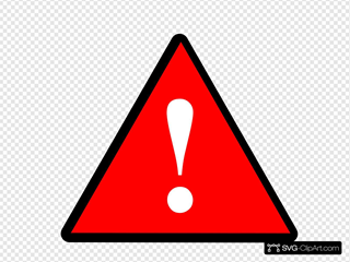 Black Red White Warning 1