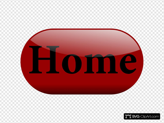 Shiny Red Home Button