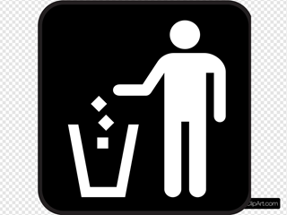 Trash Litter Box