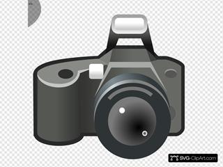 Camera Photo SVG Clipart