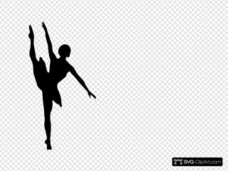 Black Ballet Dancer
