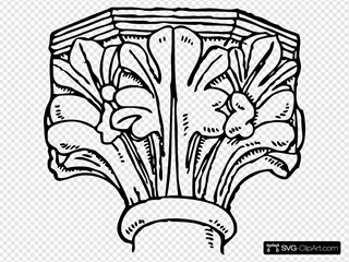 Decorated Gothic Capital