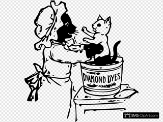 Cats And Dye