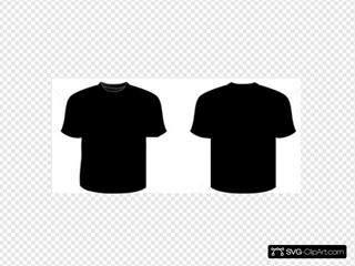 Black Shirt (front-back)