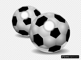 Pair Of Footballs