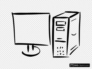 Monitor And Computer