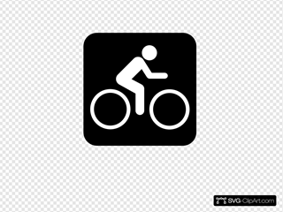 Black Sign Bike
