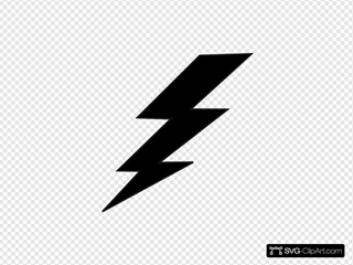 Balck Lightning Bolt