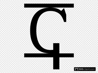 Letter Alphabet Black