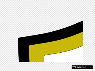 Balck And Yellow  White Shield