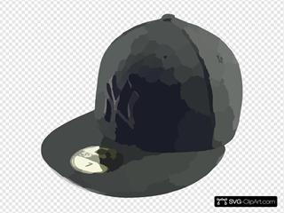New Era Cap New York Yankees Black On Black